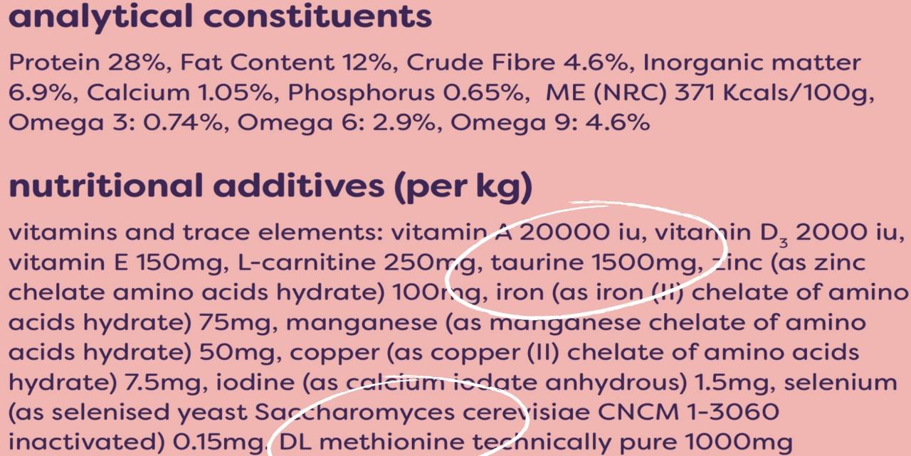 plant labs packaging showing ingredients